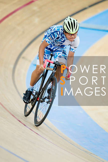 Mok Tsz Chun of Noble Cycling Team hk in action during the 500m Time Trial Youth 11-13 Final at the Hong Kong Track Cycling Race 2017 Series 5 on 18 February 2017 at the Hong Kong Velodrome in Hong Kong, China. Photo by Marcio Rodrigo Machado / Power Sport Images