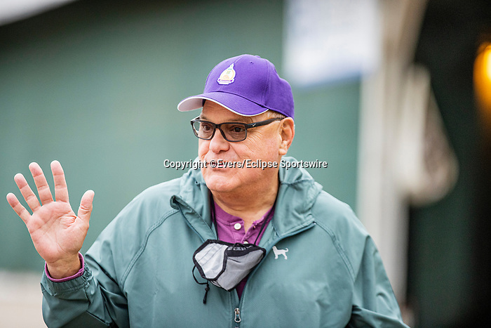 April 29, 2021: Jockey Agent Ron Anderson at Churchill Downs in Louisville, Kentucky on April 29, 2021. EversEclipse Sportswire/CSM