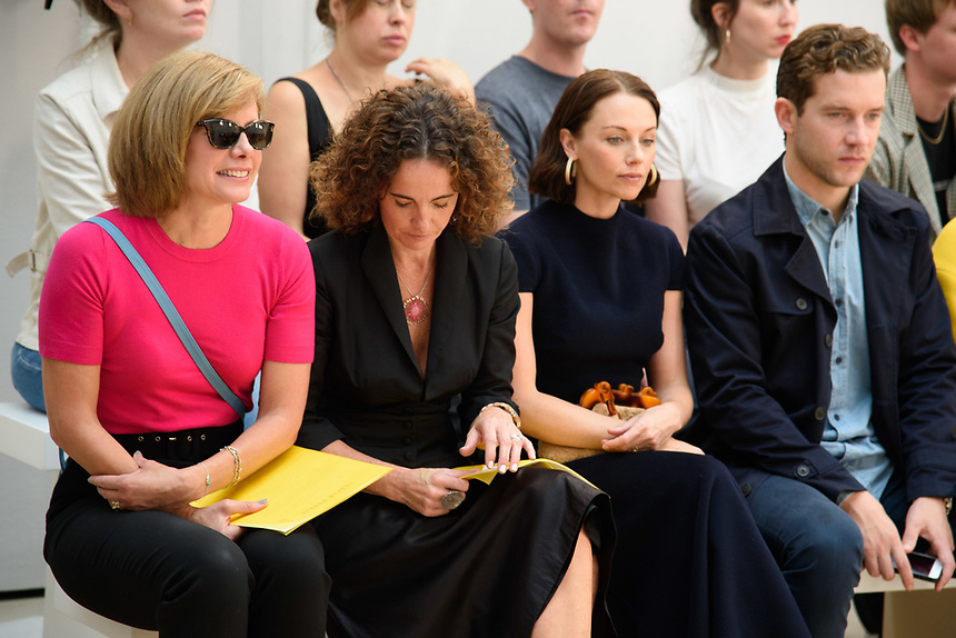 Dame Dacrcy Bussell<br /> front row at the Jasper Conran London Fashion Week SS18 catwalk show, London<br /> <br /> ©Ash Knotek  D3431  15/09/2018