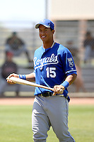 Cheslor Cuthbert, Kansas City Royals, 2010 minor league spring training..Photo by:  Bill Mitchell/Four Seam Images.