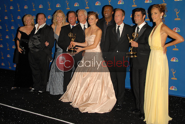 """The Cast of """"24""""<br />in the Press Room at the 58th Annual Primetime Emmy Awards. The Shrine Auditorium, Los Angeles, CA. 08-27-06<br />Scott Kirkland/DailyCeleb.com 818-249-4998"""
