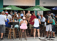 FORT LAUDERDALE, FL - SEPTEMBER 26: People seen partying at the Elbo Room as Florida Gov. Ron DeSantis announced on Friday that effective immediately, Florida moves to phase 3 of coronavirus reopening plan with bars and restaurants at full capacity on September 26, 2020 in Fort Lauderdale, Florida. <br /> CAP/MPI04<br /> ©MPI04/Capital Pictures
