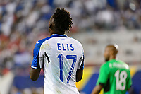 Harrison, NJ - Friday July 07, 2017: Alberth Elis during a 2017 CONCACAF Gold Cup Group A match between the men's national teams of Honduras (HON) vs Costa Rica (CRC) at Red Bull Arena.
