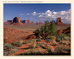 Artist's Point in Monument Valley, Arizona.<br />
