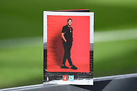 Arnaut Danjuma of Bournemouth on the front cover of the match day programme during AFC Bournemouth vs Blackburn Rovers, Sky Bet EFL Championship Football at the Vitality Stadium on 12th September 2020