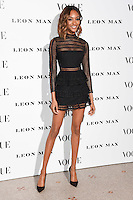 Jourdan Dunn<br /> at the Vogue 100: A Century of Style exhibition opening held in the National Portrait Gallery, London.<br /> <br /> <br /> ©Ash Knotek  D3080 09/02/2016