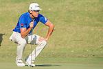 Rafael Cabrera Bello of Spain plays an approach shot during the 58th UBS Hong Kong Golf Open as part of the European Tour on 10 December 2016, at the Hong Kong Golf Club, Fanling, Hong Kong, China. Photo by Marcio Rodrigo Machado / Power Sport Images