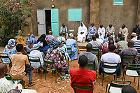 MALI, Kayes, religious dialogue, meeting of religious leader from churches and mosques / christlich islamischer Dialog, Treffen von Persönlichkeiten der katholischen, protestantischen Kirche und des Islam