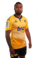 Willis Halaholo. Hurricanes Super Rugby official headshots at Rugby League Park, Wellington, New Zealand on Tuesday, 13 January 2015. Photo: Dave Lintott / lintottphoto.co.nz