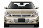 Straight front view of a 2012 Chevrolet Impala LS
