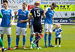 St Johnstone v Ross County…12.05.18…  McDiarmid Park    SPFL<br />Murray Davidson and daughter<br />Picture by Graeme Hart. <br />Copyright Perthshire Picture Agency<br />Tel: 01738 623350  Mobile: 07990 594431