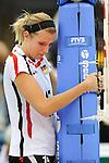 06.11.2010, Nippon Gaishi Hall, Nagoya, JPN, Volleyball Weltmeisterschaft Frauen 2010,  Deutschland ( GER ) vs. Italien ( ITA ), im Bild Maren Brinker (#15 GER) nach der Niederlage. Foto © nph / Kurth