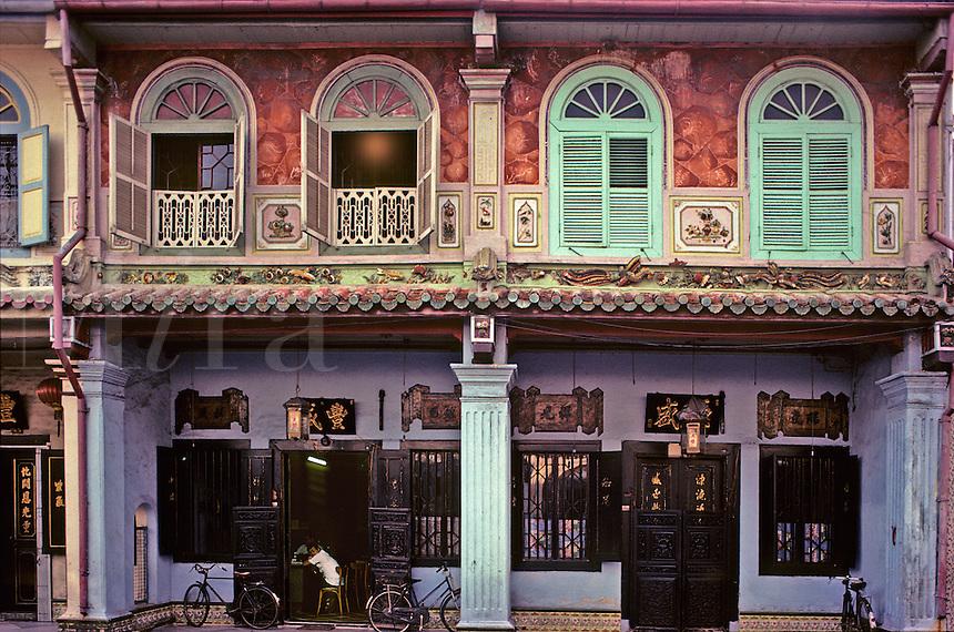 Chinese shop houses, Malacca, Malaysia.