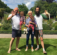 COPY BY TOM BEDFORD<br /> Pictured: Alexander Williams (R) with his parents<br /> Re: Alexander Williams, the husband of Katie Rhys Jones, who is the sister in law of footballer Gareth Bale, has died.