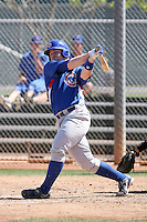 Michael Brenly, Chicago Cubs 2010 minor league spring training..Photo by:  Bill Mitchell/Four Seam Images.
