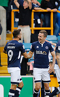 GOAL - Millwall's Jed Wallace makes it 1-0 during the Sky Bet Championship match between Millwall and Ipswich Town at The Den, London, England on 15 August 2017. Photo by Carlton Myrie.