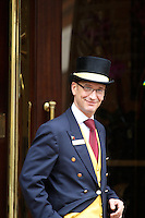 Concierge at the Crowne Plaza St James in London, United Kingdom