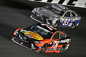 Monster Energy NASCAR Cup Series<br /> Coca-Cola 600<br /> Charlotte Motor Speedway, Concord, NC USA<br /> Sunday 28 May 2017<br /> Martin Truex Jr, Furniture Row Racing, Bass Pro Shops/TRACKER BOATS Toyota Camry and Corey LaJoie, BK Racing, Hope for the Warriors Toyota Camry<br /> World Copyright: Nigel Kinrade<br /> LAT Images<br /> ref: Digital Image 17CLT2nk09982
