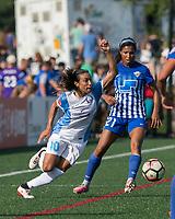 Boston, MA - Saturday August 19, 2017: Marta Vieira Da Silva during a regular season National Women's Soccer League (NWSL) match between the Boston Breakers (blue) and the Orlando Pride (white/light blue) at Jordan Field. Orlando Pride defeated Boston Breakers, 2-1.