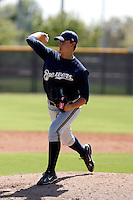 Jake Odorizzi - Milwaukee Brewers 2009 Instructional League. .Photo by:  Bill Mitchell/Four Seam Images..