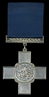 BNPS.co.uk (01202 558833)<br /> Pic: Spink & Son/BNPS<br /> <br /> The remarkable story of a foundryman who risked electrocution and being crushed to save injured co-workers after a factory explosion can be revealed after his bravery medal emerged for sale for £18,000.<br /> <br /> John Farr sprung into action when the High Duty Alloys Factory in Slough, Berks, was destroyed in the disaster on July 13, 1940.<br /> <br /> Alongside his brother Douglas, he pulled wounded colleagues to safety before returning to the debris to 'clear' two large furnaces each containing 1,000lbs of molten aluminium. This was done in complete darkness despite the danger of the roof collapsing at any moment and possible electrocution from loose cables.<br /> <br /> Their efforts meant that the factory was able to return to producing World War Two aircraft parts far sooner at a pivotal moment in the Battle of Britain.<br /> <br /> Mr Farr's heroism was later immortalised on the front cover of a 'boy's own' comic and his George Cross is now being sold with auctioneers Spink & Son, of London.
