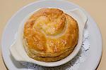 Chicken Pot Pie with Peabody Hotel Logo, B Line Diner, Orlando, Florida