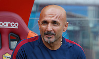 Calcio, Serie A: Roma vs Sampdoria. Roma, stadio Olimpico, 11 settembre 2016.<br /> Roma's coach Luciano Spalletti waits for the start of the Italian Serie A football match between Roma and Sampdoria at Rome's Olympic stadium, 11 September 2016. Roma won 3-2.<br /> UPDATE IMAGES PRESS/Isabella Bonotto