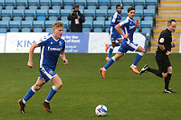 Scott Robertson of Gillingham in action during Gillingham vs Charlton Athletic, Sky Bet EFL League 1 Football at the MEMS Priestfield Stadium on 21st November 2020