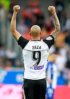 Valencia CF's Simone Zaza celebrates goal during La Liga match. October 28,2017. (ALTERPHOTOS/Acero) /NortePhoto.com