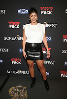 HOLLYWOOD, CA - OCTOBER 12: Erika Medina, at the 21st Screamfest Opening Night Screening Of The Retaliators at Mann Chinese 6 Theatre in Hollywood, California on October 12, 2021. Credit: Faye Sadou/MediaPunch