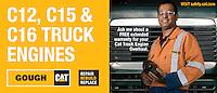 Gough Gough & Hamer CAT Division. Advertisement for Precious Metals.