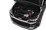 Car stock 2020 Chevrolet Spark 1LT 5 Door Hatchback engine high angle detail view