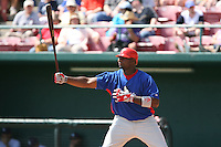 March 19th 2008:  Ryan Howard of the Philadelphia Phillies during a Spring Training game at Al Lang Field in St. Petersburg, FL.  Photo by:  Mike Janes/Four Seam Images