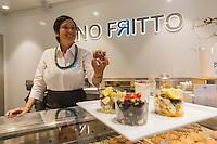 Italie, Vénétie, Venise:   Restaurant: Lino Fritto, Campo de le Becarie // Italy, Veneto, Venice: