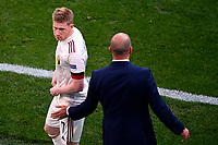 COPENHAGEN, DENMARK - JUNE 17 : Kevin De Bruyne forward of Belgium and Robeduring the 16th UEFA Euro 2020 Championship Group B match between Denmark and Belgium on June 17, 2021 in Copenhagen, Denmark, 17/06/2021  <br /> Photo Photonews / Panoramic / Insidefoto <br /> ITALY ONLY
