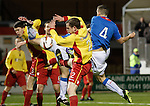 Fraser Aird scores the opener