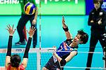 Yuki Ishii of Japan attacks during the match between China and Japan on May 30, 2018 in Hong Kong, Hong Kong. (Photo by Power Sport Images/Getty Images)
