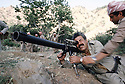 Iraq 1985  <br /> In a base of KDP, in the liberated area, Failak Eddin Kakai  with a RPG<br /> Irak 1985 <br /> Dans une base du PDK, region de Lolan, pendant la lutte armée, Failak Eddin Kakai avec un bazooka
