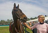Janet Elliot and Flat Top, Aiken Spring Races 2009.