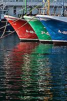 Europe/Espagne/Pays Basque/Guipuscoa/Fontarrabie: Le port de pêche