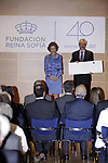 Queen Sofia attends the 40th anniversary of Reina Sofia Alzheimer Foundation. May 21 ,2017. (ALTERPHOTOS/Pool)
