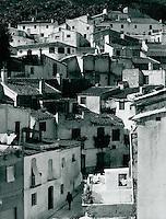 Dorf in Andalusien, Spanien 1975