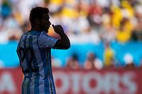 Silhouette of Ezequiel Lavezzi of Argentina