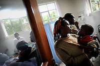 A woman being admitted to the Outreach Centre of the Hamlin Fistula Hospital in Yirgalem, Southern Ethiopia