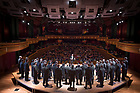 November 3, 2017; Glee Club concert in Leighton Concert Hall (Photo by Matt Cashore/University of Notre Dame)