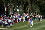 Sam Brazel of Australia plays an approach shot during the 58th UBS Hong Kong Golf Open as part of the European Tour on 11 December 2016, at the Hong Kong Golf Club, Fanling, Hong Kong, China. Photo by Marcio Rodrigo Machado / Power Sport Images