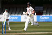 Daniel Lawrence adds to the Essex total during Essex CCC vs Worcestershire CCC, LV Insurance County Championship Group 1 Cricket at The Cloudfm County Ground on 8th April 2021