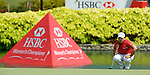 SINGAPORE - MARCH 08:  Jiyai Shin of South Korea on the par four 18th hole during the final round of HSBC Women's Champions at the Tanah Merah Country Club on March 8, 2009 in Singapore.  Photo by Victor Fraile / The Power of Sport Images
