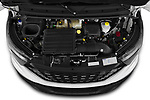 Car Stock 2021 Iveco Daily 12m3-L3H2 4 Door Cargo Van Engine  high angle detail view