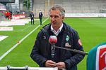 17.10.2020, Schwarzwald Stadion, Freiburg, GER, 1.FBL, SC Freiburg vs SV Werder Bremen<br /> <br /> im Bild / picture shows<br /> Frank Baumann (Geschäftsführer Fußball Werder Bremen)<br /> <br /> Foto © nordphoto / Bratic<br /> <br /> DFL REGULATIONS PROHIBIT ANY USE OF PHOTOGRAPHS AS IMAGE SEQUENCES AND/OR QUASI-VIDEO.